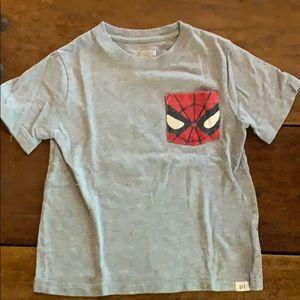 Baby Gap Marvel Spider Man Tee sz 4